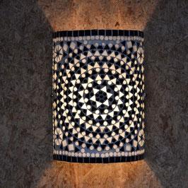 Oosterse Mozaïek Wandlamp Cilinder