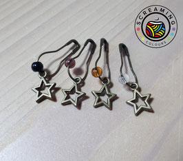 Maschenmarkierer Sterne bronze