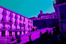 IBIZA city Blue