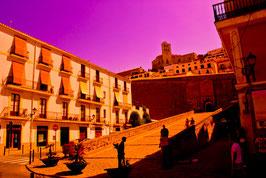 IBIZA city Red