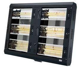 APOLLO Infrarot-Heizung 6 x 1,5 kW