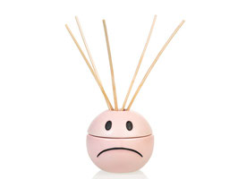 MOOD OIL DIFFUSER, INCLUDING 40ML OIL AND & STICKS
