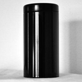 Teedose, schwarz