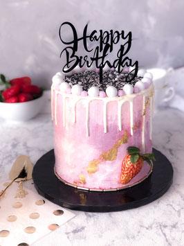 Candy Drip Cake mit Farbverlauf