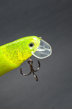 "Castaic Realbait 9""_Chartreuse Pepper"