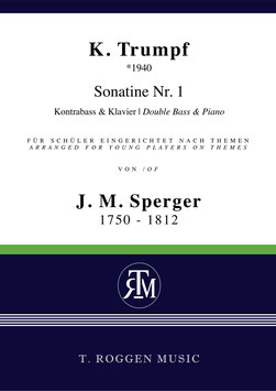 Sonatine Nr. 1 für Kontrabass & Klavier