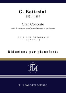 Gran Concerto in fa # minore per Contrabbasso e orchestra