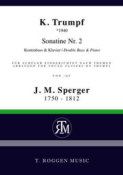 Sonatine Nr. 2 für Kontrabass & Klavier