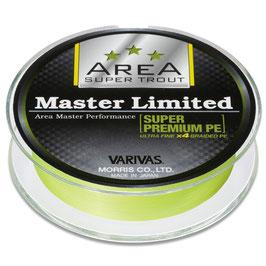 Леска плетёная VARIVAS Area Super Trout Master Limited Premium PE 75м 0.3 pink