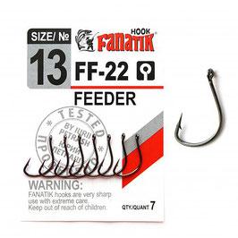FEEDER FF-22 Крючок фидерный размер-13