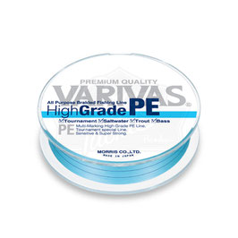 Леска плетёная VARIVAS High Grade PE 150m 0.6 blue