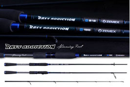 Спиннинг ZEMEX 'BASS ADDICTION  2,13 m 5,0-18,0 гр NEW 2015