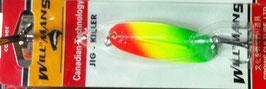 Блесна GC, вес-7 г.длина-57мм (цвет 016/A) подложка(ярко лимонная)