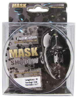 "Леска MASK  ""Shadow"" флюрокарбон 30м - 0,296 мм - 5,28кг"