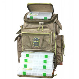 Рк-01 Рюкзак с 9 коробками (fisherbox)