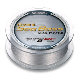 Леска плетёная VARIVAS Sea Bass Max Power PE 8 Braid 150m 0.8