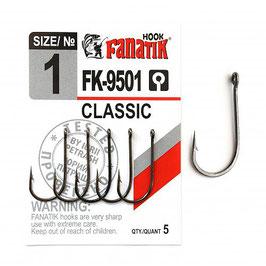 CLASSIC FK-9501 Крючок классический размер-1