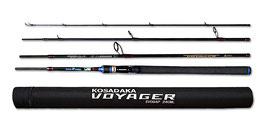 спиннинг kosadaka voyager 4pro 2.40 3-17 тубус 4 секции