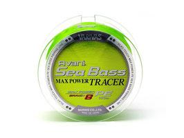 Леска плетёная VARIVAS Avani Sea Bass Max Tracer PE 8 150m 0.8