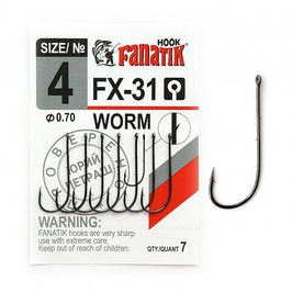 Worm FX-31 размер-4 (Ø0.70)