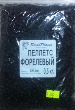 """Пеллетс Форелевый """"BaitsPlanet"""" 0,5 кг 4,5 мм"""