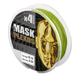 Леска плетёная MASK PLEXUS x4 125m d-0,24 green