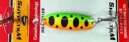 Блесна GC, вес-7 г.длина-57мм (цвет 004/A) подложка (ярко морковная)