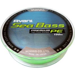 Леска плетёная VARIVAS Sea Bass Premium PE 150m 1.2