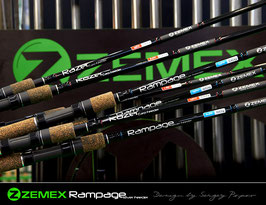 Фидер ZEMEX ''RAMPAGE RIVER FEEDER'' 12,4ft (до 100 гр)