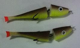 Рыбка поролоновая 2-х составная(1)