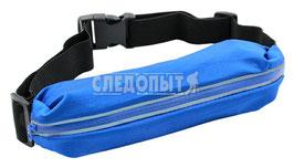 "Пояс турист. с мешком ""СЛЕДОПЫТ"", L-98 см, 1 карман, водонепр., синий/250/"