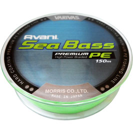 Леска плетёная VARIVAS Sea Bass Premium PE 150m 1.5