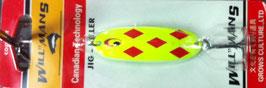 Блесна GC, вес-7 г.длина-57мм (цвет 001/A) подложка (ярко салатовый)