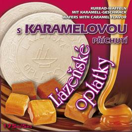 Oblaten mit Karamell-Geschmack