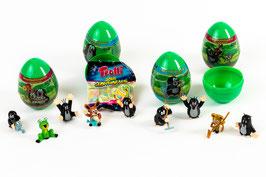 Ü-Ei mit Spielzeug und Gummibärchen