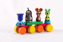 Der kleine Maulwurf Pauli Zug und seine Freunde