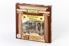 Karlsbader Oblaten mit Schokoladen-Geschmack