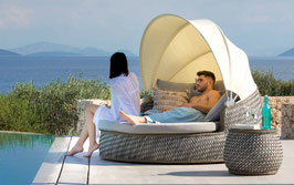 Daybed giratorio