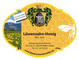 Löwenzahn-Honig Mai-Juni
