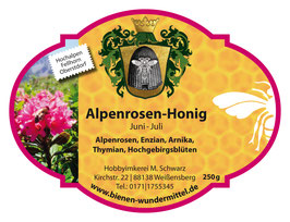 Alpenrosen-Honig Juni-Juli