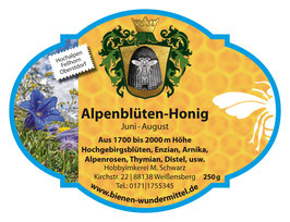 Alpenblüten-Honig Juni-August, cremig