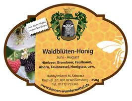 Waldblüten-Honig Juni-August, cremig