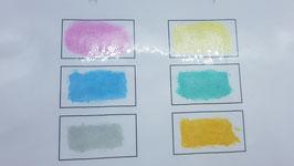 Wasserfarben Metallic