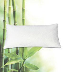 Kissen mit Nackenstützfunktion Bezug: Bambus