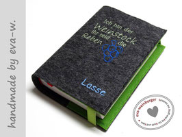Gotteslobhülle • Gebetbuch • Einband • Weinstock