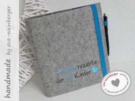 Rezeptordner • Sammlung • Lieblingsrezepte • Geschenk zur Hochzeit • Verabschiedung Erzieherin oder Lehrerin Kindergarten