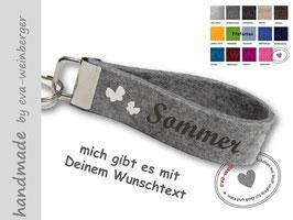 Schlüsselanhänger • Schmetterlinge • Sommer