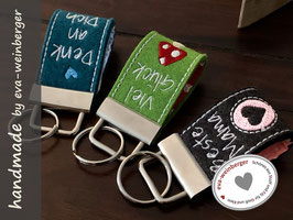 Schlüsselanhänger • Minis •  Beste Mama • Viel Glück • Denk an Dich