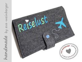Reisepasstasche • Dokumentenmappe • Flugzeug