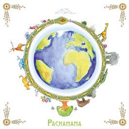 Pachamama Aufkleber